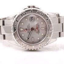 Rolex Ladies 169622 Yachtmaster - Platinum Dial / Platinum Bezel