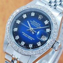 롤렉스 (Rolex) 18K Gold Diamonds DateJust Automatic Women's...