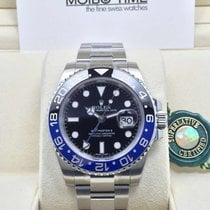 Rolex GMT Master II BLUE BLACK TWO COLOUR TONE Ceramic Bezel...