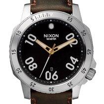 Nixon A508-019 Ranger Leather Black Brown 44mm 10ATM