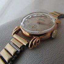 Herodia 18ct  golden vintage art deco style watch