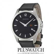 Gucci G-Timeless Black Dial Stainless Steel YA126304 R