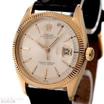 Rolex Vintage Datejust Ref-6605 18k Rose Gold Bj-1957