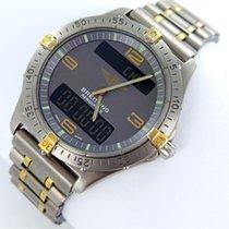브라이틀링 (Breitling) Aerospace Multifunktion F56062 Titan Gold...