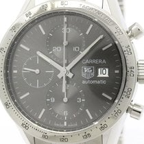 タグ・ホイヤー (TAG Heuer) Polished Tag Heuer Carrara Chronograph...