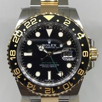Rolex GMT Master II Steel/Yellow gold
