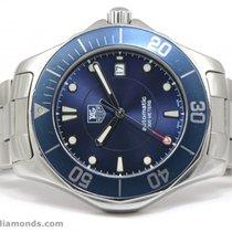 TAG Heuer Aquaracer 2000 WAB2011 Navy Blue Calibre 5 41mm...