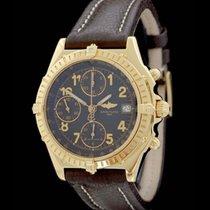Breitling Chronomat Chronograph Ref.: A13050 - Gelbgold - 90er...