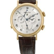 브레게 (Breguet) | A Yellow Gold Automatic Wristwatch With...