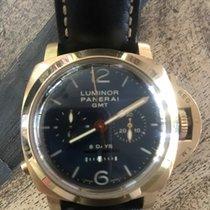 Panerai PAM00277 luminor 1950 8 day chrono monopulsante GMT -...