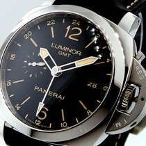 Panerai Unworn  Pam 531 Luminor 1950 3 Days Gmt 44 Mm Steel...