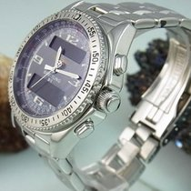 Breitling B1 Chronograph Digital Multifunktionsuhr Stahlband...