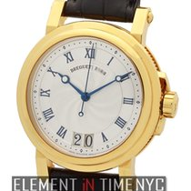 Breguet Marine Automatic Big Date 18k Yellow Gold 40mm