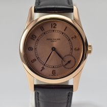 Patek Philippe Calatrava 18K Rose Gold Small Seconds 5000R
