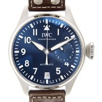 萬國 (IWC) Pilots Stainless Steel Blue Automatic IW500916