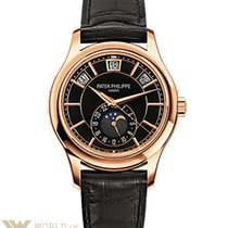 Patek Philippe Complications 40.2mm Rose Gold Black Dial...