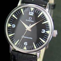오메가 (Omega) Seamaster Winding Black Radium Steel Unisex Watch...