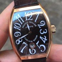 Franck Muller Casablanca gold rose limited platinum rotor oro...