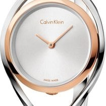 ck Calvin Klein LIGHT K6L2MB16 Damenarmbanduhr Swiss Made