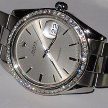 Rolex Date Oysterdate Precision Diamonds