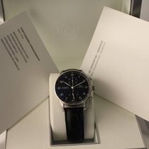 IWC PORTOGHESE CHRONOGRAPH 41mm Black Dial