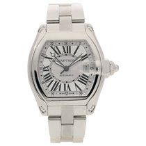 Cartier Roadster GMT XL 2722 - Second Hand Watch - Silver Dial...