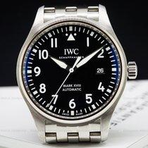 IWC IW327011 Mark XVIII Black Dial SS / SS (26429)