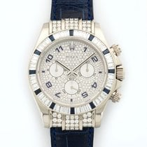 Rolex Cosmograph Daytona 18K Solid White Gold Automatic Diamonds