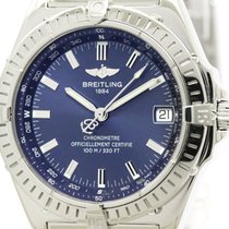 Breitling Polished Breitling Wings Chronometer Steel Automatic...