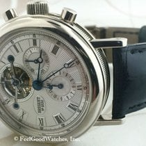 브레게 (Breguet) 3577BB Tourbillon Chronograph, White Gold