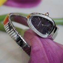 Bulgari SERPENTI 35MM STEEL AND QUARTZ