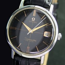 Omega Seamaster DeVille Cross Hair Winding Steel Mens Watch
