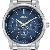 Citizen Eco Drive Solar Dress Watch elegant blue dial