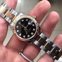Rolex datejust 31 mm oro gold diamonds diamanti