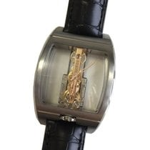 Corum 313.165.04/0F01 0000R Golden Bridge in Black Titanium -...