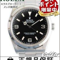 ロレックス (Rolex) 【ロレックス】エクスプローラー1 メンズ腕時計 自動巻きオートマ ステンレス シルバーブラック文...