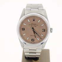ロレックス (Rolex) Air King Precision Steel 34mm SolomonDial...