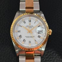 Rolex Oyster Perpetual Date Ref.15223 gold and steel