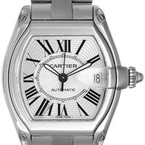 Cartier Roadster Men's Steel Watch W62025V3 (or CRW62025V3)