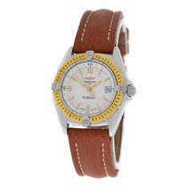 Breitling Ladies  Callistino D52045.1 Quartz Date 28MM 18K