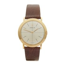 Corum Vintage 18K Yellow Gold Gents