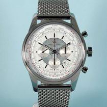 Breitling Transocean Chronograph Unitime Stahlband Ocean...