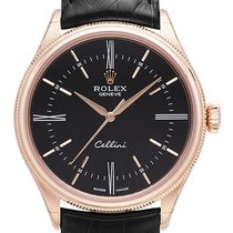 Ρολεξ (Rolex) Cellini Time black roman 3,6,9