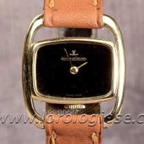 Jaeger-LeCoultre Etrier Vintage Lady`s Size 18kt. Gold Watch...
