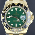 Rolex GMT-Master II Yellow Gold,Green Dial 40MM