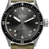 Blancpain Fifty Fathoms Bathyscaphe Automatic 43mm 5000-1110-k52a