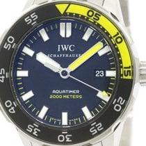 IWC Polished Iwc Aquatimer Automatic 2000 Steel Mens Watch...