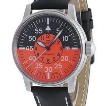 Fortis Flieger Cockpit Orange Date 595.11.13 L.01
