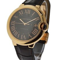 Cartier W6920037 Ballon Bleu - Large Size - Rose Gold on Strap...