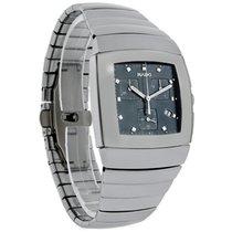 라도 (Rado) Sintra Mens Platinum Ceramic Swiss Chronograph Watch...
